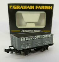 N Gauge Farish 373-175R 7 Plank Wagon The Mains Coal & Cannel - Special Edition