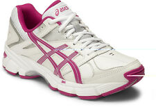 ASICS GEL 190tr Womens Leather Crosstrainer (d) (0121) Australia Delivery US 9 White/berry/silver D