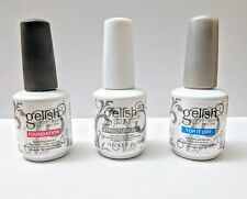 Harmony GELISH Soak Off Nail Gel Structure Top It Off and Foundation Set of 3
