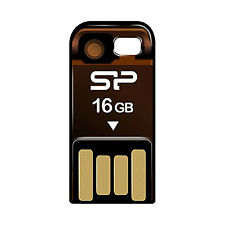 Silicon POWER sp016gbuf2t02v1o MEMORY STICK 16 GB USB 2.0 ARANCIONE