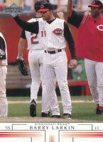 BARRY LARKIN 2002 Upper Deck #714 Cincinnati Reds Baseball Card