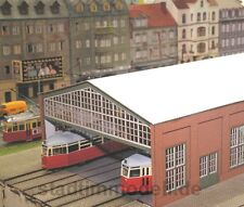 Stadt im Modell 9901 Straßenbahndepot Hamburg Lasercutbausatz Spur N SONDERPREIS