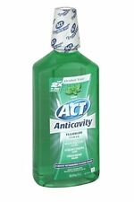 ACT Anticavity Rinse, Mint, 33.8 oz (3 Pack)