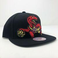 New Mitchell & Ness Toronto Raptors NBA Retro Dino Black Adjustable Snapback Cap