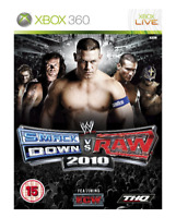 Xbox 360 - WWE SmackDown vs Raw 2010 **New & Sealed** Official UK Stock