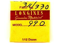 NEW OLD STOCK LONGINES CAL L.990.1 UPPER OR LOWER CAP JEWEL WATCH PART #311/330