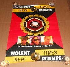 Violent Femmes New Times Promo 1994 Original Poster 30x20