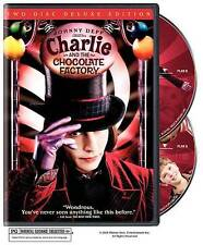 New ListingCharlie and the Chocolate Factory (Dvd, 2005, 2-Disc Set, Widescreen Deluxe Edi…