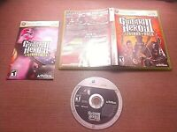 Microsoft Xbox 360 CIB Complete Tested Guitar Hero III Legends of Rock Ships Fas