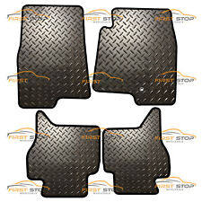 MITSUBISHI SHOGUN D-ID LWB 2000-2007 FULLY TAILORED 3MM RUBBER HEAVY DUTY MATS