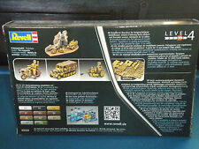 REVELL 1/76 WWII German Sd.Kfz.11 +7,5 cm PAK 40 03252 Ex Matchbox Molds