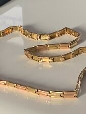 14 Ct K Carat Solid Gold Necklace/ Chain Very Heavy And Wide, 26 g