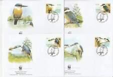 WWF 4 x FDC Norfolk Island 2004 - Vogels / Birds (290)