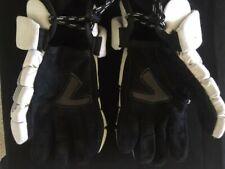 Brine King Superlight Lacrosse Youth Gloves 10in Black/White