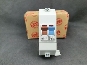 Wylex 100A 2 Pole Isolator Switch with Slim Profile Enclosure NSPE-7442/NR