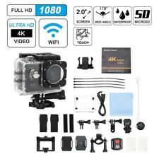 """F60 2"""" 140° Wide Angle HD 4K 30FPS Wifi Action Camera with Waterproof Case CO"""