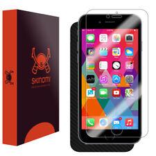 Skinomi Carbon Fiber Skin & Screen Protector for Apple iPhone 6S (Plus)