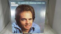 Merle Haggard I'm Always On A Mountain When I Fall 1978 MCA-2375 LP VG+ cVG+