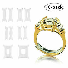 NEW 10PCS Ring Size Reducer Resizer Adjuster Inserted Guard Tightener Invisible