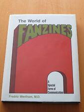 Fredric Wertham ' The World of Fanzines '.  Hardcover. 1st Edition.  Mint