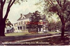 1909 RESIDENCE OF COMMANDANT, INFANTRY AND CAVALRY SCHOOL, LEAVENWORTH, KS