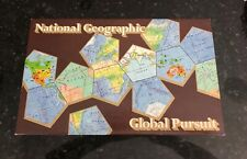 Vintage 1987 National Geographic Global Pursuit Game