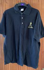 4 X Johnnie Walker Camisa Polo Negro Algodón L