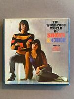 Sonny and Cher The Wonderous World Of  REEL TO REEL 4 TRACK TAPE 1966