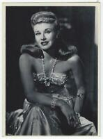 Ginger Rogers Vintage Black and White Photograph Hollywood Movies Dancer