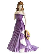 Royal Doulton Claire Pretty Ladies in Lilac Dress HN5156 New In Box