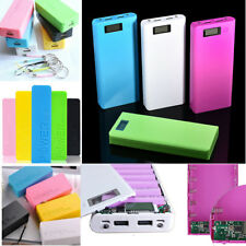 5600mAh USB 5V Power Bank 18650 Battery Charger Case DIY Box For Mobile Phone 1A