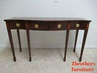 Baker Furniture Historic Charleston Mahogany High Leg Sideboard Buffet Credenza