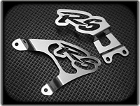 Polished Heel Plates for YAMAHA R6 - 2003 to 2006, YZF 600 R (Foot Guards)
