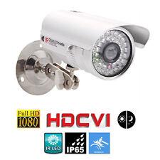 CCTV HD-CVI 2MP Full HD 1080P Waterproof Outdoor Bullet CVI Camera IR Day/Night