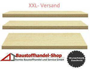 Werkbankplatte 40mm Multiplexplatte 110€/m²  Sperrholz Holzplatte Arbeitsplatte