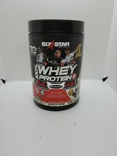 00006000 Six Star 100% Whey Protein Plus 2 lb Pure Whey Protein Cookies & Cream- Exp.6/22