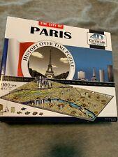 The City of Paris 4D Cityscape Time Puzzle 1100 pieces model 40028