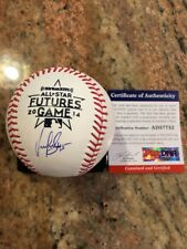 Michael Feliz Autographed 2014 All-Star Futures Ball W/Coa Pittsburgh Pirates