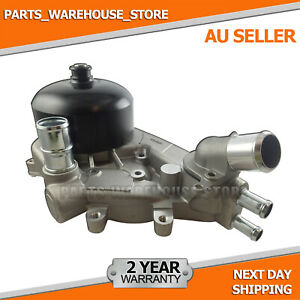 Water Pump +Thermostat for Holden Crewman 6.0L V8 VZ 4x4 SS/SS Thunder L76,LS2