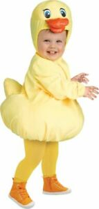 Rubber Ducky Toddler Costume