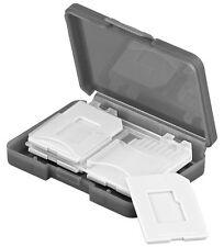 Goobay Cardbox 4x SD Aufbewahrungsbox für Speicherkarte