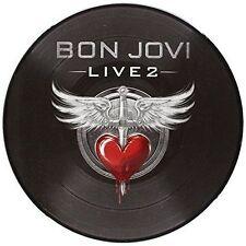 """Bon Jovi Live 2 10"""" Vinyl Single 45rpm 2014"""