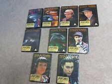 Reduced New & Sealed -9 x Star Trek the Next Generation Collectors Edition DVD's