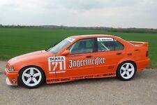 DTM Jägermeister Motorsport Aufkleber Satz - BMW E30 S14 und E36 - M-Fahrzeuge