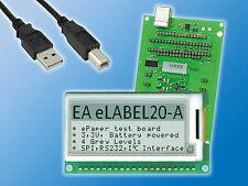 "e-Paper Display | EA EVALEPA20-A | 2"" | 3,3V | mit Ansteuerung und USB-Interface"