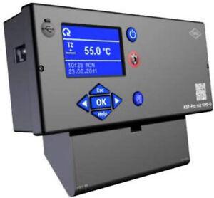 Universal Kesselregelung KSF-Pro mit KMS-D oder KSF-Pro+ mit KMS-D+