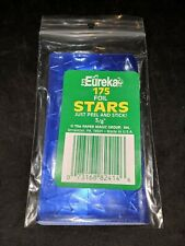 """3/4 inch Foil Stars by Eureka - 3/4"""" BLUE stickers - NEW pack of 175!"""