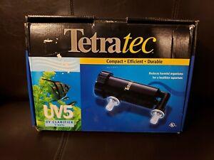 TetraTec Compact UV Clarifier, 5 watt, 300 gph, for up to 100 gal aquariums