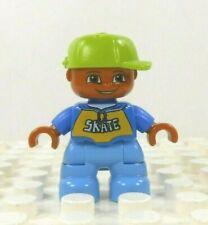 Lego Duplo Figure Kid African American (Boy)