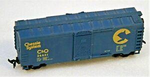 LIFE-LIKE HO CHESSIE SYSTEM 40' BOX CAR RD # 26621